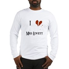 I heart Mrs. Lovett Long Sleeve T-Shirt