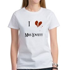 I heart Mrs. Lovett Tee