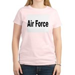 Air Force (Front) Women's Pink T-Shirt