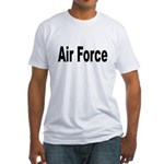 Air Force (Front) Fitted T-Shirt
