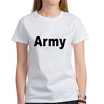 Army (Front) Women's T-Shirt