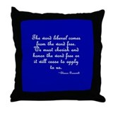 The Word Liberal Throw Pillow
