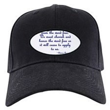 The Word Liberal Baseball Hat