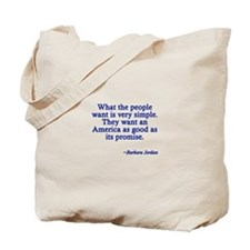 What People Want Tote Bag