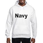 Navy (Front) Hooded Sweatshirt