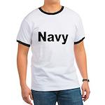 Navy (Front) Ringer T