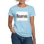Reserves (Front) Women's Pink T-Shirt