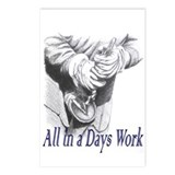 All in a Days Work Postcards (Package of 8)