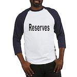 Reserves (Front) Baseball Jersey
