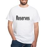 Reserves (Front) White T-Shirt