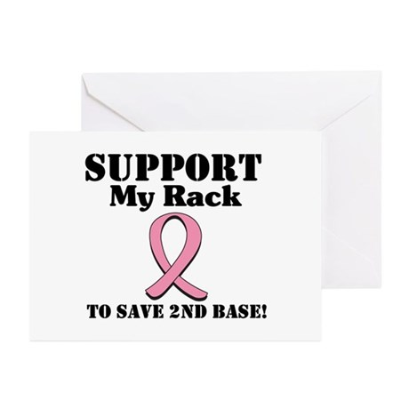 Support My Rack Greeting Cards (Pk of 10)