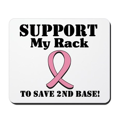 Support My Rack Mousepad