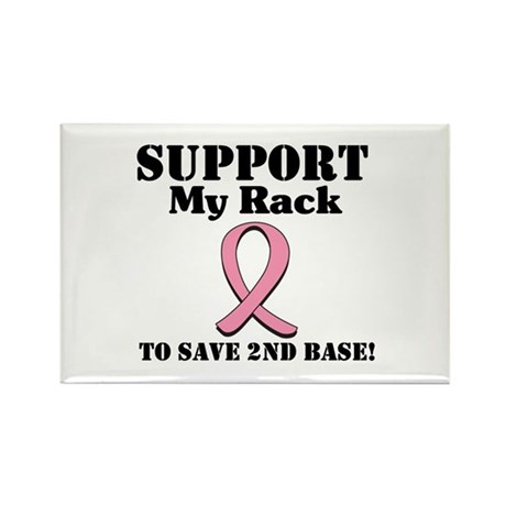 Support My Rack Rectangle Magnet (10 pack)
