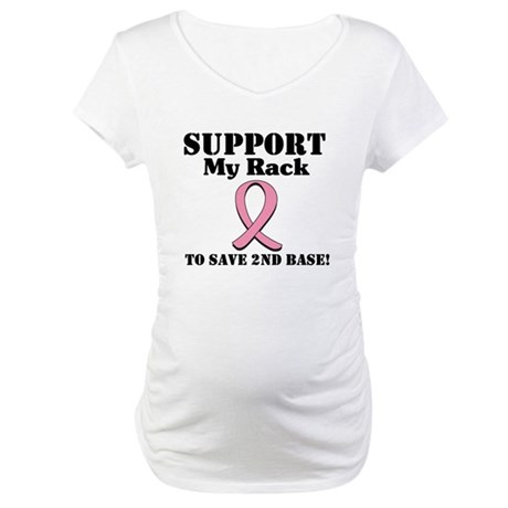 Support My Rack Maternity T-Shirt