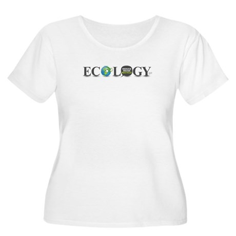 Ecology Women's Plus Size Scoop Neck T-Shirt
