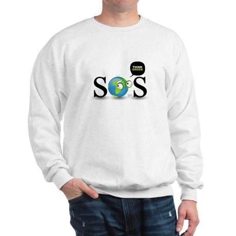 SOS. Think Green. Sweatshirt