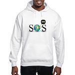 SOS. Think Green. Hooded Sweatshirt