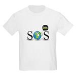 SOS. Think Green. Kids Light T-Shirt