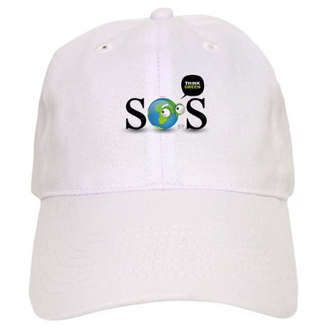 SOS. Think Green. Cap