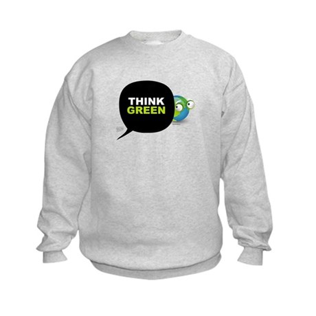 Think Green v3 Kids Sweatshirt