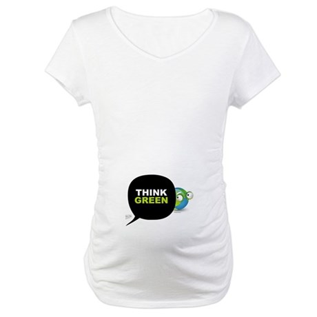 Think Green v3 Maternity T-Shirt