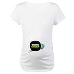 Think Green v3 Maternity T-Shirt