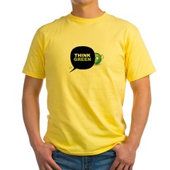Think Green v3 Yellow T-Shirt