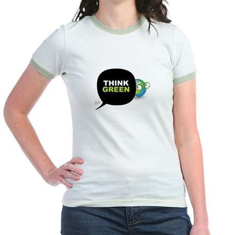 Think Green v3 Jr. Ringer T-Shirt