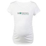 Biodiesel Maternity T-Shirt