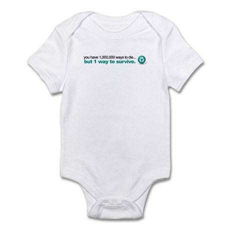 Survive by recycling Infant Bodysuit