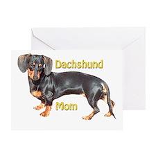Dachshund Mom Greeting Card