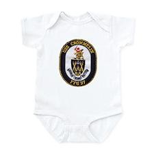 USS CROMMELIN Infant Bodysuit