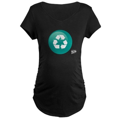 Recycle Maternity Dark T-Shirt