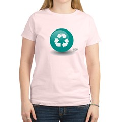 Recycle Women's Light T-Shirt