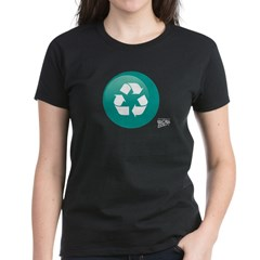 Recycle Women's Dark T-Shirt