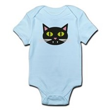 Little Black Cat Infant Bodysuit