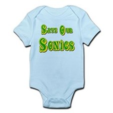 Save Our Sonics in Seattle Infant Bodysuit