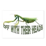 Praying Mantis Postcards (Package of 8)