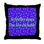 Firefly Enchantment Throw Pillow