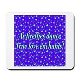 Firefly Enchantment Mousepad