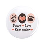 Peace Love Komondor 3.5