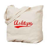 Vintage Ashtyn (Red) Tote Bag