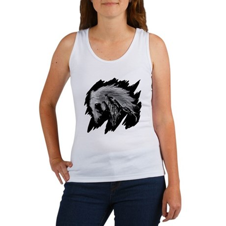 Horse Sketch Women's Tank Top