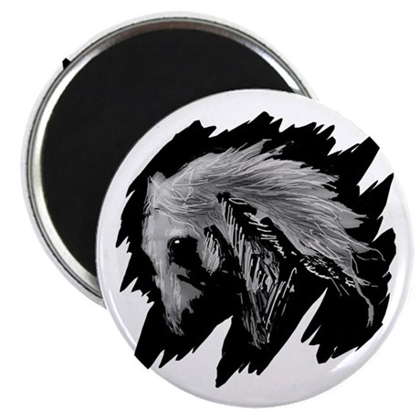 Horse Sketch 2.25&quot; Magnet (100 pack)