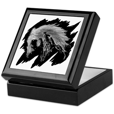 Horse Sketch Keepsake Box