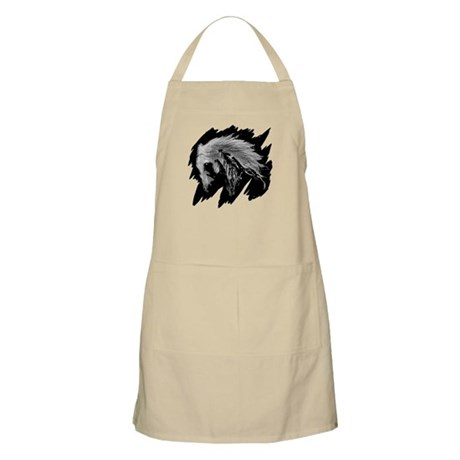 Horse Sketch BBQ Apron