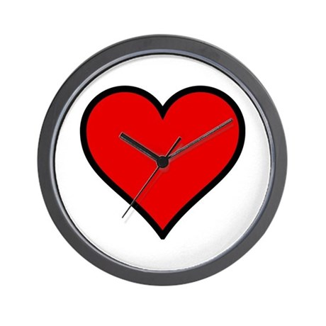 Simple Heart Wall Clock