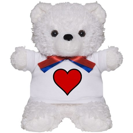 Simple Heart Teddy Bear