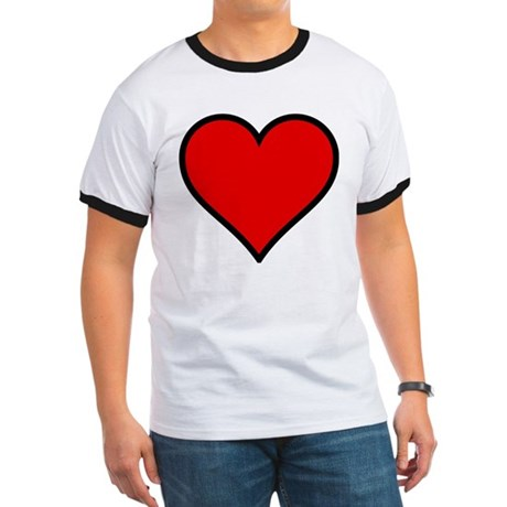 Simple Heart Ringer T
