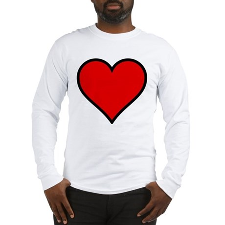 Simple Heart Long Sleeve T-Shirt